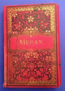 Meran Leporello 12 Fotos ca 1890 Kunstverlag Stengel & Co Dresden  12688