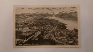Lausanne-Ouchy Ansichtskarte 20012