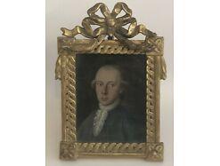 Josef II Freimaurer orig. Rahmen Öl auf Karton 18/19 Jhdt. 17x12 cm m. Rahmen 0