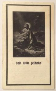 Sterbebild Gastwirtin in Kolming Pfarre Munderfing    11135