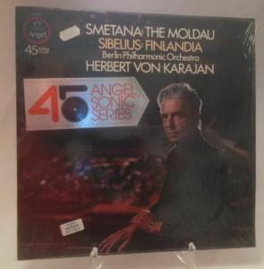 Sibelius Finladia Berliner Philharmonica Karajan, Herbert von: