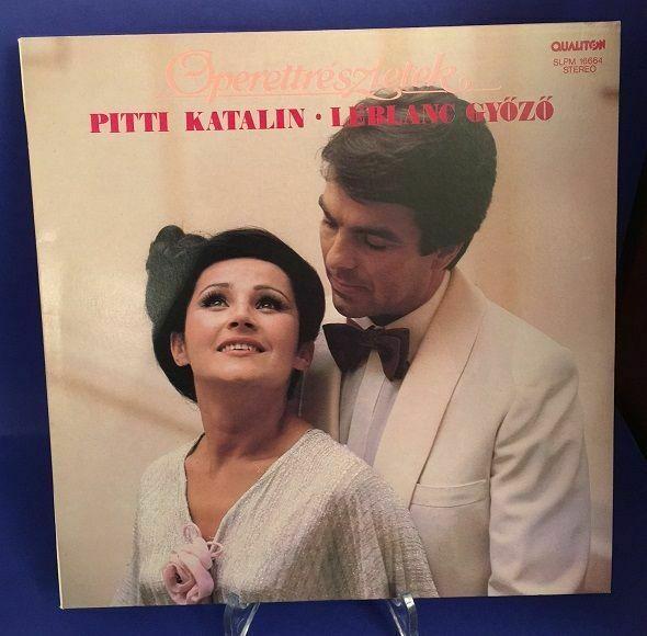 Operettreszletek Katalin, Piti und Leblanc Gyözö: 0