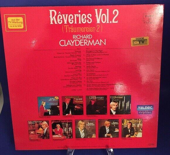 Träumereien 2 Reveries Vol. 2 Clayderman, Richard: 1