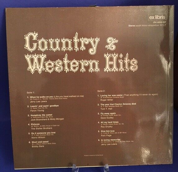 Country & Western Hits 1