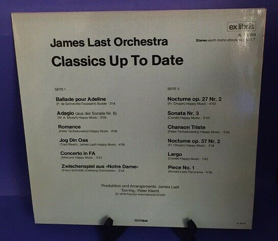 Classics up to date Last, James: 1