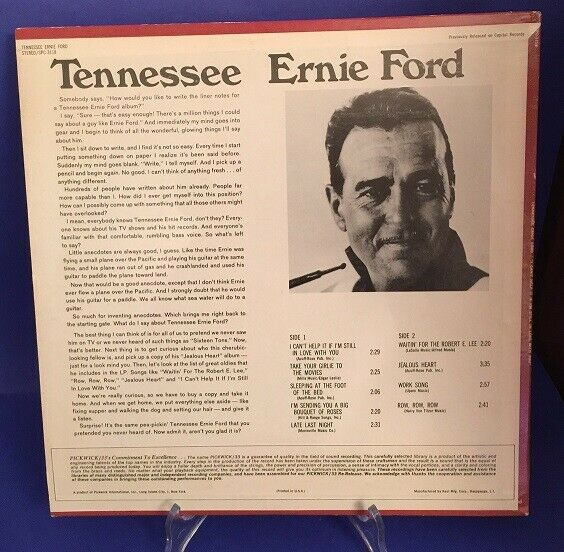 Tennessee Ernie Ford I Can't helpit if i'm still in love with you 1