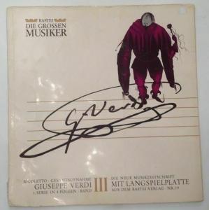 Bastei Die Grossen Musiker Verdi, Giuseppe: