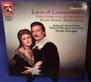 Lucia di Lammermoor Donizetti 3 x LP