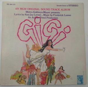 Gigi an MGM Original Soundtrack Album