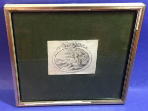 Mansfeld Johann Ernst 18 Jhdt. gerahmt Stich 18002