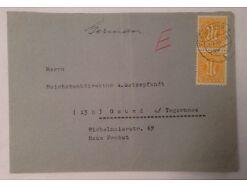 Brief Am Post Flensburg Gmund am Teggernsee 14000
