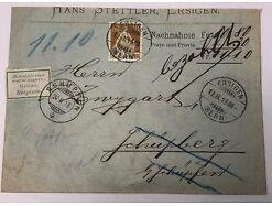 Helvetia Ersingen Schüpfen um 1916 Annahme verweigert 15 X 11 cm 30534