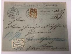 Helvetia Ersingen Tauffelen Nidau um 1912 15 X 11.5 cm 30537