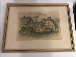 Robert Zinner St. Pölten Lesehof in Joching ca. 41.5 X32 cm