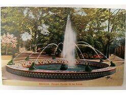 Sevilla Parque Fuente de las Ranas Espana Spanien 31374