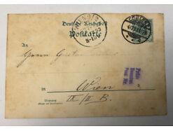 Deutsche Reichspost Coblenz Koblenz Ganzsache - Wien 31331