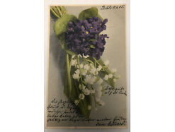 Blumen Stempel Behle Pommern  30974
