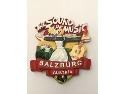 Sound Of Music Magnet Kühlschrank Salzburg Austria