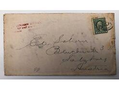 Postablage USA One Cent Salzburg Brooklyn 25258