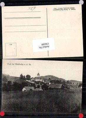 Puch bei Waidhofen a.d. Thaya seltene Ortsansicht 1912
