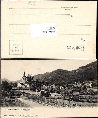 Launsdorf bei St. Georgen am Längsee um 1900