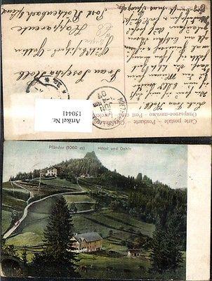 Pfänder Ansicht Hotel u. Dohle Lochau Bregenz 1907