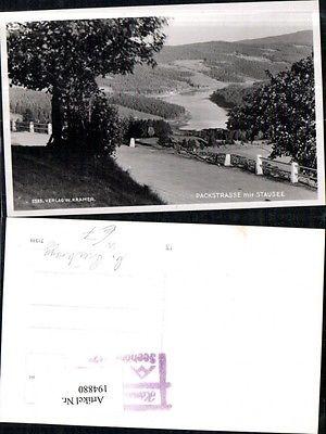 Foto Ak Packstrasse m. Stausee b. Preitenegg