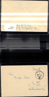 WK 2 Feldpost Brief Kenn-Nummer 906 11.06.1941  Feldpost Nr. 15884 n. Wie