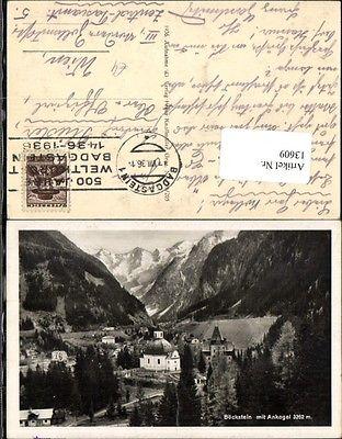 Böckstein mit Ankogel Bad Gastein Badgastein