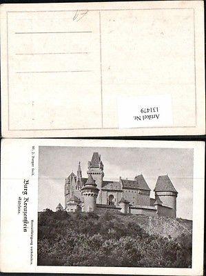 Burg Kreuzenstein bei Korneuburg W.J. Burger sign.
