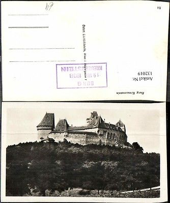 Burg Kreuzenstein bei Korneuburg Stempel 19. Mai