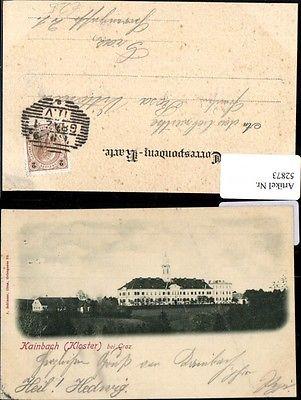 Graz Kainbach Kloster Totalansicht 1899