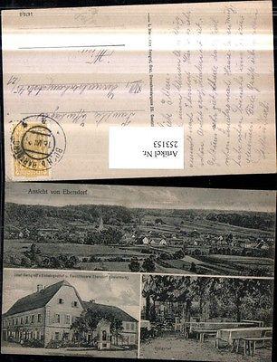 Ebersdorf Totale Josef Gerngroß Gasthof u. Fleischhauerei u. Gastgarten M