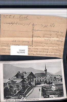 Scharnitz Gasthof zum Goldenen Adler u. Kirche