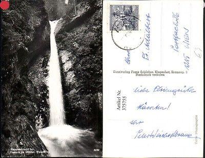 Raggaschlucht b. Flattach im Mölltal Wasserfall