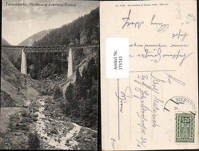 Tauernbahn Pfaffenberg-Zwenberg-Viadukt Brücke b. Reißeck
