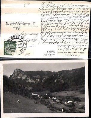 Schwarzau im Gebirge Totale m. Falkenstein