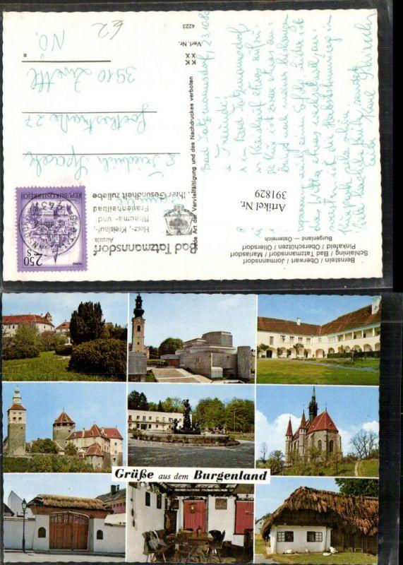 Bernstein Oberwart Jormannsdorf Burg Schlaining Pinkafeld Mehrbildkarte