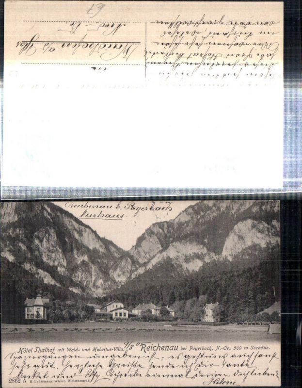 Reichenau an d. Rax b. Payerbach Hotel Thalhof m. Wald- und Hubertus-Vill