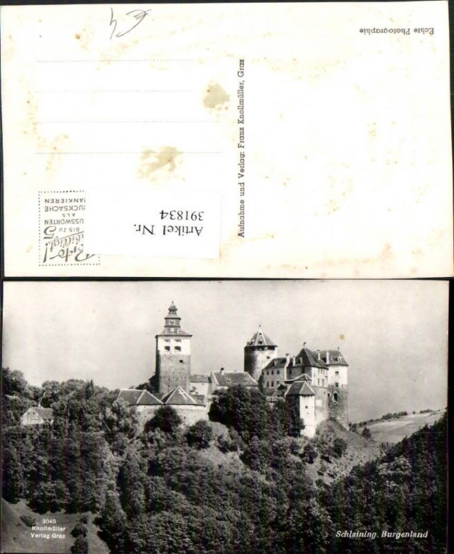 Burg Schlaining b. Stadtschlaining