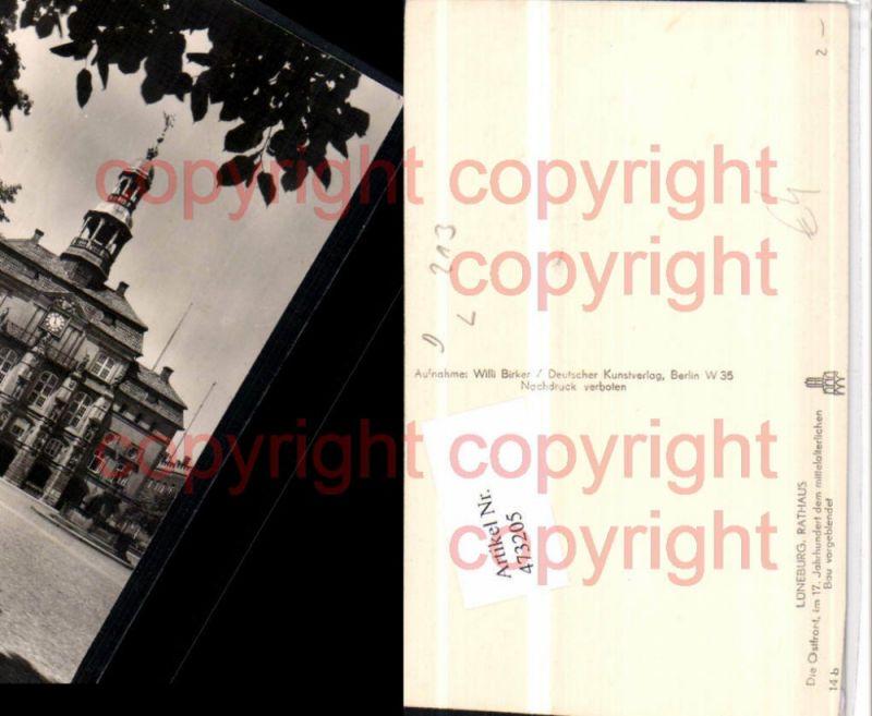Lüneburg Rathaus Gebäude Nr. 473205 - oldthing: Ansichtskarten ...
