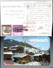 Alpbach Teilansicht Kirche Bergkulisse Winterbild