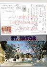 St. Jakob im Defereggental Kirche VW-Golf 1 Winterbild