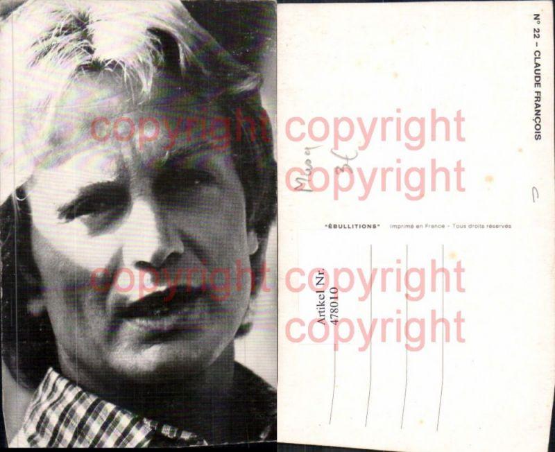 Musiker Claude Francois Portrait