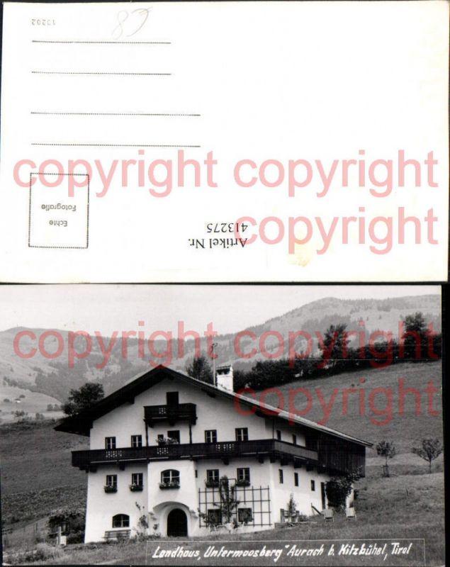 Aurach b. Kitzbühel Landhaus Untermoosberg Nr. 413275 - oldthing ...