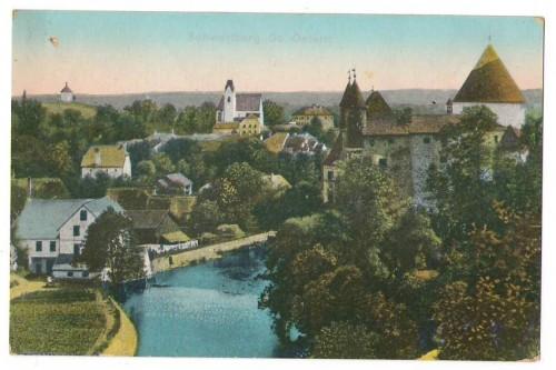 1499;Schwertberg bei Perg Partie am Schloss COLOR