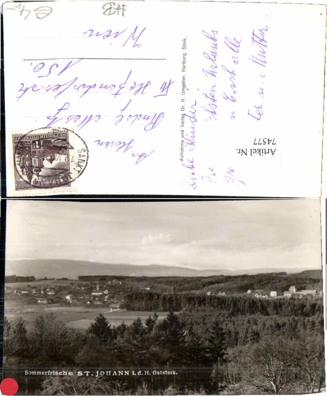 74577;Sommerfrische St Johann in der Haide