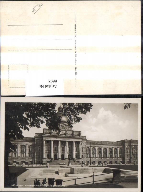 München Armeemuseum u. Kriegerdenkmal