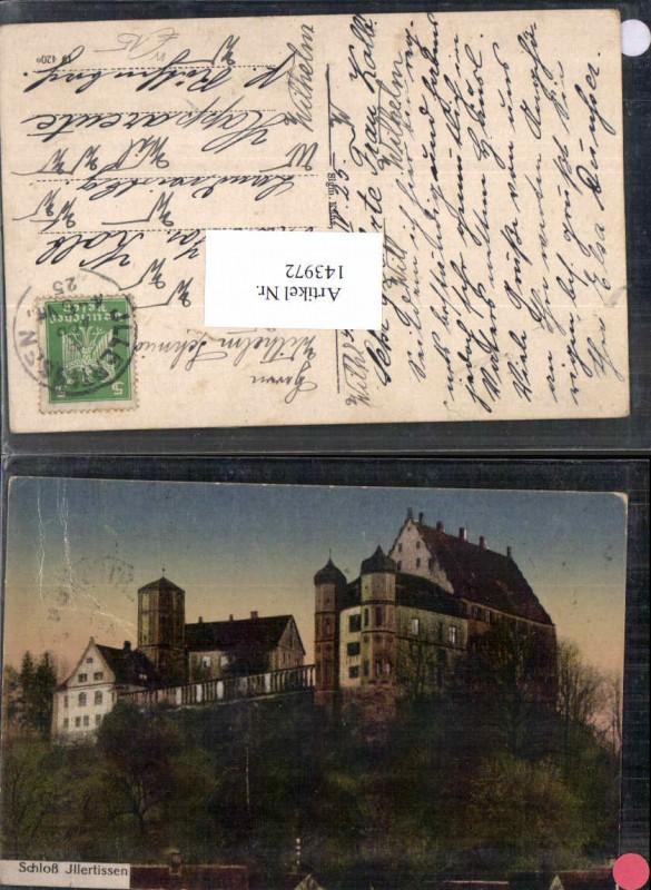 Schloss Illertissen Jllertissen 1925