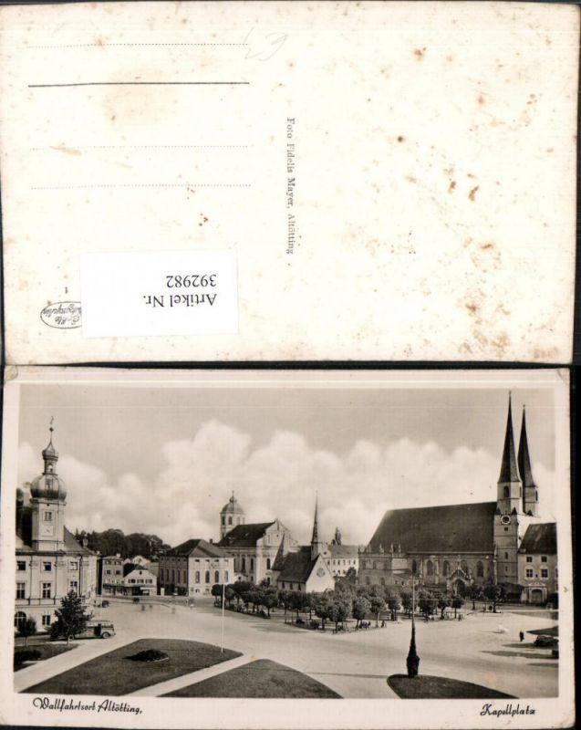 Altötting Kapellplatz Kapelle Kirche